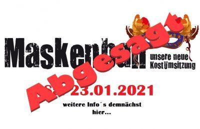 2. Maskenball 23.01.2021